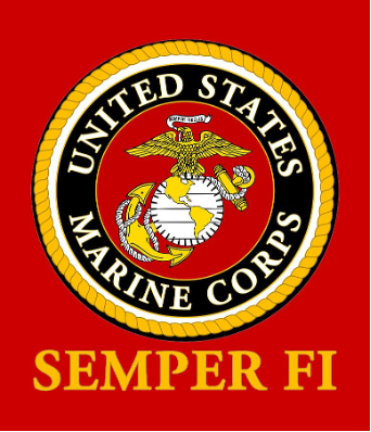 USMC Semper Fi Official Seal Digital Art by Sheila Broumley